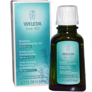 WELEDA, ROSEMARY CONDITIONING HAIR OIL, 1.7 FL OZ / 50ml