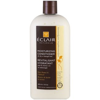ECLAIR NATURALS, MOISTURIZING CONDITIONER, SHEA BUTTER & OATMEAL, 12 FL OZ / 355ml