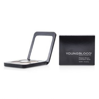 YOUNGBLOOD PRESSED MINERAL EYESHADOW QUAD - TIMELESS 4G/0.14OZ