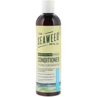 THE SEAWEED BATH CO., MOISTURIZING ARGAN CONDITIONER, UNSCENTED, 12 FL OZ / 354ml