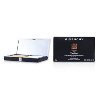 GIVENCHY TEINT COUTURE LONG WEAR COMPACT FOUNDATION & HIGHLIGHTER SPF10 - # 6 ELEGANT GOLD 10G/0.35OZ