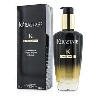 KERASTASE CHRONOLOGISTE FRAGRANT OIL (FOR ALL HAIR TYPES) 120ML/4.06OZ