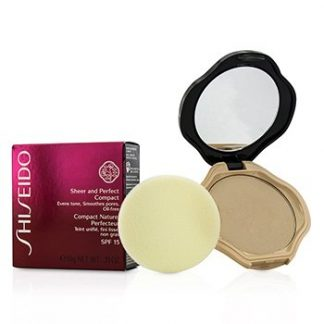 SHISEIDO SHEER & PERFECT COMPACT FOUNDATION SPF15 - #I40 NATURAL FAIR IVORY 10G/0.35OZ