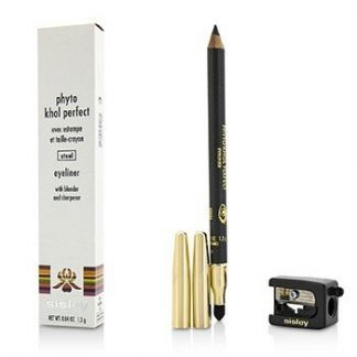 SISLEY PHYTO KHOL PERFECT EYELINER (WITH BLENDER AND SHARPENER) - # STEEL 1.2G/0.04OZ