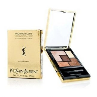 YVES SAINT LAURENT COUTURE PALETTE (5 COLOR READY TO WEAR) #14 (ROSY CONTOURING) 5G/0.18OZ