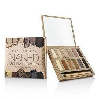 URBAN DECAY NAKED ULTIMATE BASICS EYESHADOW PALETTE: 12X EYESHADOW, 1X DOUBLED ENDED BLENDING AND SMUDGER BRUSH -