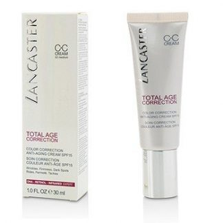 LANCASTER TOTAL AGE CORRECTION COLOR CORRECTION ANTI-AGING CREAM SPF15 - #02 MEDIUM 30ML/1OZ