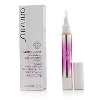 SHISEIDO WHITE LUCENT ONMAKEUP SPOT CORRECTING SERUM SPF 25 PA+++ - # NATURAL 4ML/0.16OZ