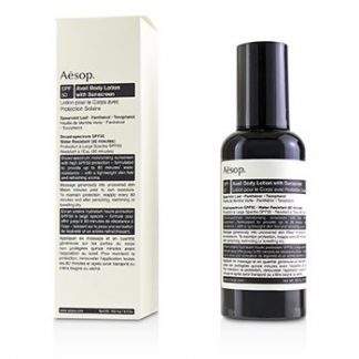 AESOP AVAIL BODY LOTION WITH SUNSCREEN SPF 50 152.4G/5.4OZ
