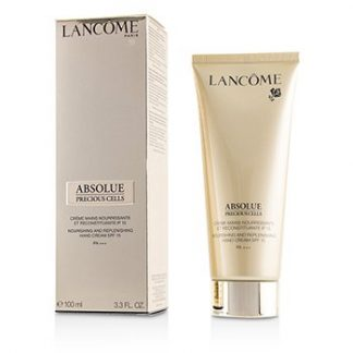 LANCOME ABSOLUE PRECIOUS CELLS NOURISHING & REPLENISHING HAND CREAM SPF 15 PA+++ 100ML/3.3OZ