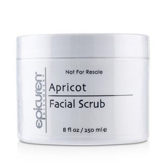 EPICUREN APRICOT FACIAL SCRUB - FOR ALL SKIN TYPES, EXCEPT ACNEIC & ROSACEA (SALON SIZE) 250ML/8OZ