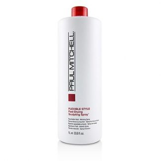 PAUL MITCHELL FLEXIBLE STYLE FAST DRYING SCULPTING SPRAY (TOUCHABLE HOLD - WORKING SPRAY) 1000ML/33.8OZ