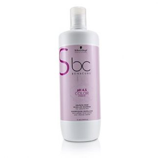 SCHWARZKOPF BC BONACURE PH 4.5 COLOR FREEZE SULFATE-FREE MICELLAR SHAMPOO (FOR COLOURED HAIR) 1000ML/33.8OZ
