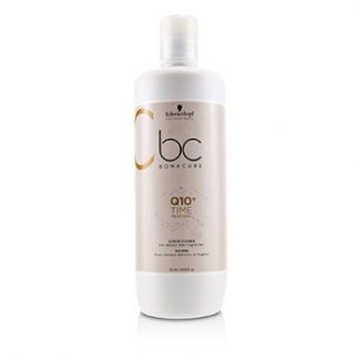 SCHWARZKOPF BC BONACURE Q10+ TIME RESTORE CONDITIONER (FOR MATURE AND FRAGILE HAIR) 1000ML/33.8OZ