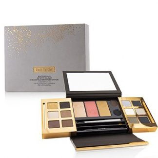 LAURA MERCIER MASTER CLASS ARTISTRY IN LIGHT HOLIDAY ILLUMINATONS EDITION : (12X EYESHADOW, 3X CHEEK COLOR, 2X EYELINER, 1X EYE PENCIL) -