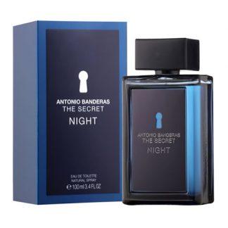 ANTONIO BANDERAS THE SECRET NIGHT EDT FOR MEN