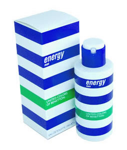 BENETTON ENERGY EDT FOR MEN